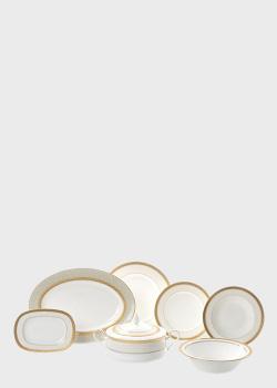 Столовый набор на 12 персон Noritake Odessa Gold 42шт, фото