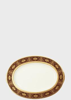 Блюдо Noritake Georgian Gold 32см овальной формы, фото