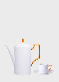 Кофейный набор Noritake Accompanist на 6 персон 17шт, фото
