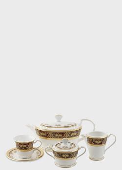 Чайный набор Noritake Georgian Gold на 6 персон из 17 предметов, фото