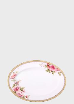 Блюдо Noritake Hertford 42см овальной формы, фото