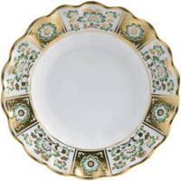 Тарелка Royal Crown Derby Panel Green 22 см, фото