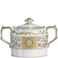 Сахарница Royal Crown Derby Panel Green 280 мл, фото