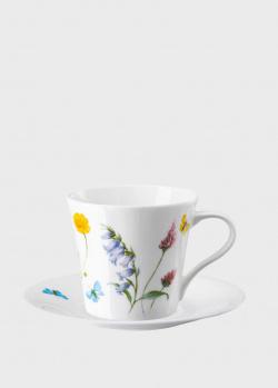 Чашка с блюдцем Rosenthal Spring Vibes для капучино, фото