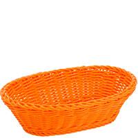 Овальная корзина Saleen 23,5x16x6,5см оранжевого цвета, фото