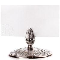Набор посеребренных держателей для меню Christofle Malmaison, фото