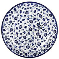 Тарелка десертная Ceramika Artystyczna Стрекоза, фото