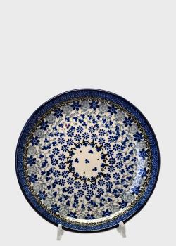 Десертная тарелка Ceramika Artystyczna Полевые цветы 20см , фото