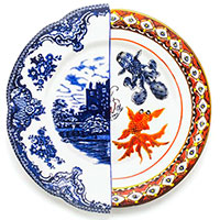 Обеденная тарелка Seletti Hybrid Isaura, фото