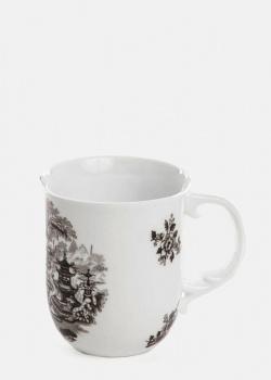 Чашка с рисунком Seletti Hybrid Fedora 8,5х10,2см, фото