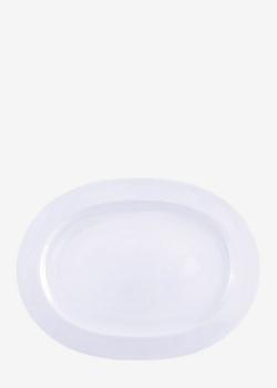 Блюдо Noritake Ambience White 32,5см овальной формы, фото