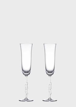 Набор бокалов Rogaska Cubism 0,2л для шампанского 2шт , фото