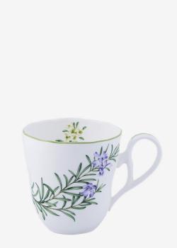 Кружка Noritake English Herbs 0,375л с цветочный рисунком, фото