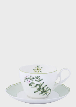 Чашка с блюдцем Noritake English Herbs 0,25л, фото