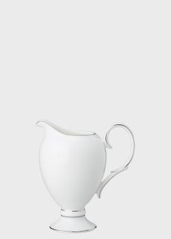 Молочник Noritake Sarah Platinum с серебристым декором, фото