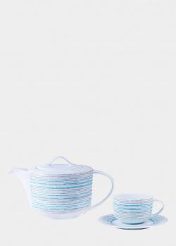 Чайный набор DPL Broken Lines на 6 персон из 17 предметов, фото
