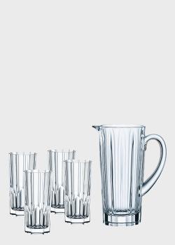 Набор кувшин со стаканами Nachtmann Aspen 5шт, фото