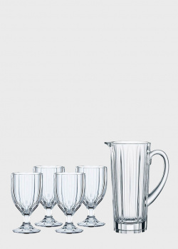 Набор стаканов Nachtmann Aspen с кувшином 5шт, фото