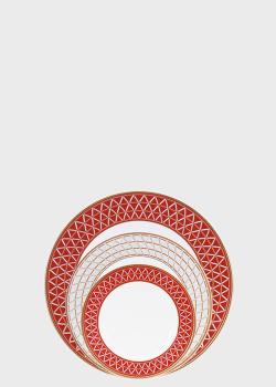 Столовый набор Noritake Crochet на 6 персон из 23 предметов, фото