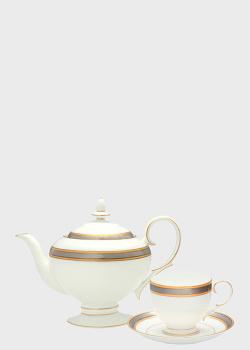 Чайный набор Noritake Brilliance на 6 персон из 17 предметов, фото