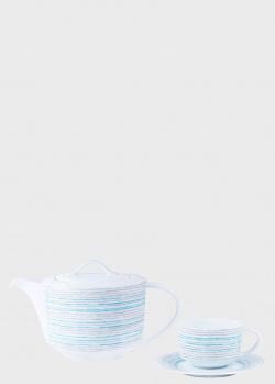 Сервиз чайный на 12 персон DPL Broken Lines из 29 предметов, фото