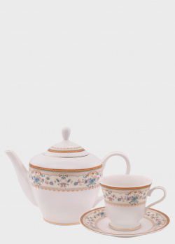 Сервиз чайный DPL Aurora IV на 6 персон из 17 предметов, фото