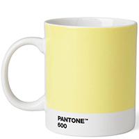 Светло-желтая кружка Pantone Light Yellow 600, фото