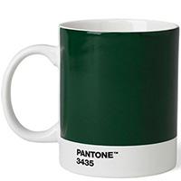 Чашка для чая Pantone Dark Green 3435, фото