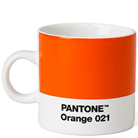 Керамическая чашка Pantone Orange 021 для эспрессо, фото