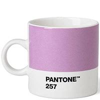 Фиолетовая чашка Pantone Light Purple 257 для кофе, фото