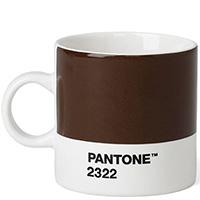 Чашка коричневого цвета Pantone Brown 2322 для эспрессо, фото