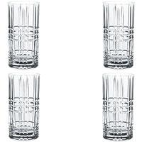 Набор стаканов для напитков Nachtmann Square 445мл из 4 штук, фото