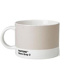 Бежевая чайная чашка Pantone Warm Gray 2, фото