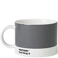 Чашка из керамики Pantone Cool Gray 9 серого цвета, фото