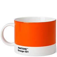 Чайная чашка Pantone Orange 021 из керамики, фото
