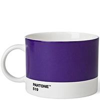 Керамическая чайная чашка Pantone Violet 519, фото