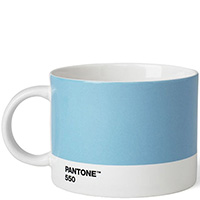 Чайная чашка Pantone Light Blue 550 для чая 475 мл, фото