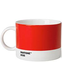 Большая чашка для чая Pantone Red 2035 475 мл, фото