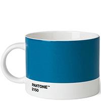 Голубая чашка для чая Pantone Blue 2150 475 мл, фото