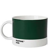 Темно-зеленая чашка Pantone Dark Green 3435 объемом 475 мл, фото
