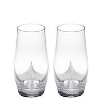 Хрустальные стаканы Lalique 100 Points с резным узором, фото