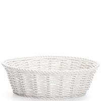 Фарфоровая корзина Seletti белого цвета, фото