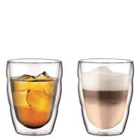 Набор стаканов Bodum Pilatus с двойными стенками 250мл из 2 штук, фото