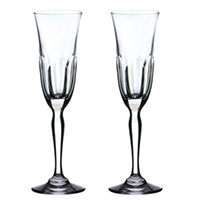 Набор бокалов Rogaska Aulide для шампанского 22,5см из 2 штук, фото