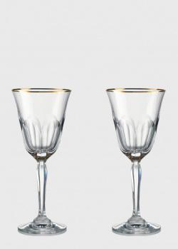 Набор бокалов для красного вина Rogaska Aulide Gold 20,5см, фото