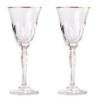 Набор бокалов для красного вина Rogaska Aulide Gold 19,5см, фото
