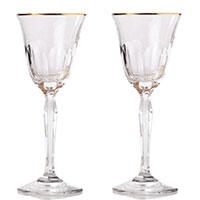 Набор бокалов Rogaska Aulide Gold для белого вина 18,5см, фото