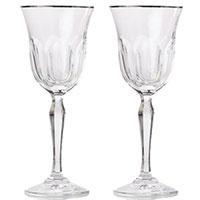 Набор бокалов Rogaska Aulide Platino для красного вина 20,5см из 2 штук, фото