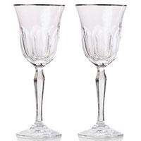 Набор бокалов Rogaska Aulide Platino для красного вина 19,5см из 2 штук, фото