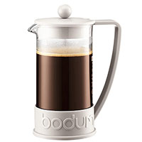 Френч-пресс Bodum Brazil на 8 чашек со вставками белого цвета 1,0 л, фото